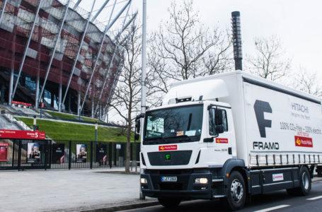Framo: Największa elektryczna ciężarówka na testach w Poczcie Polskiej i Żabce