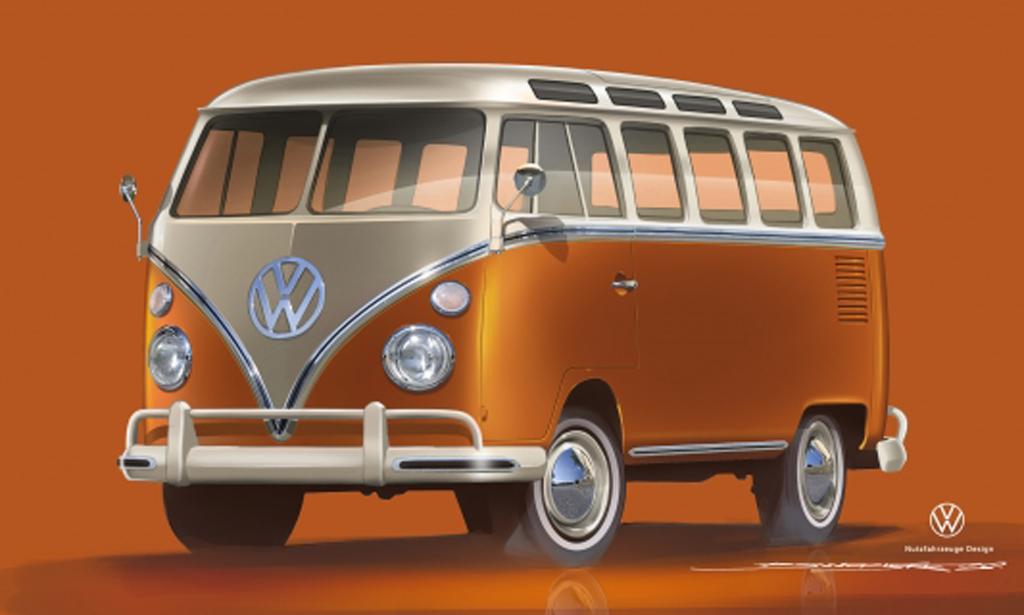 Volkswagen Samochody Dostawcze: e-BULLI – przyszłość klasycznych modeli samochodów, elemoto.pl