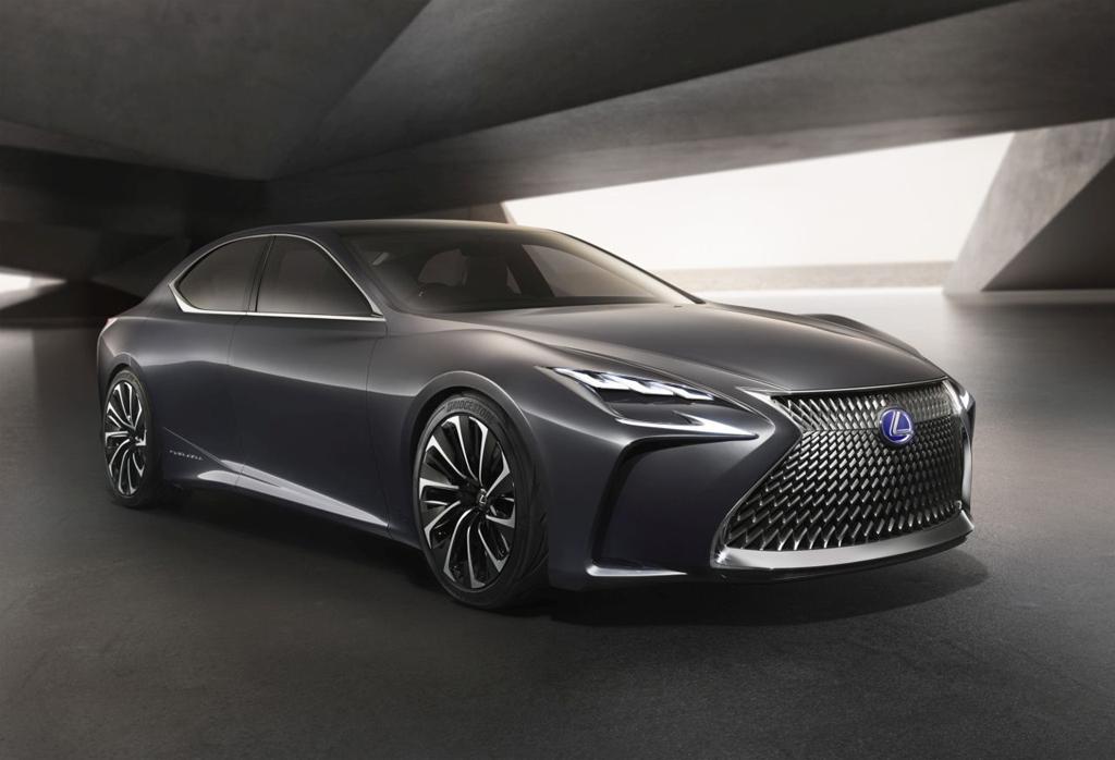 Lexus sięga po wodór! elemoto.pl