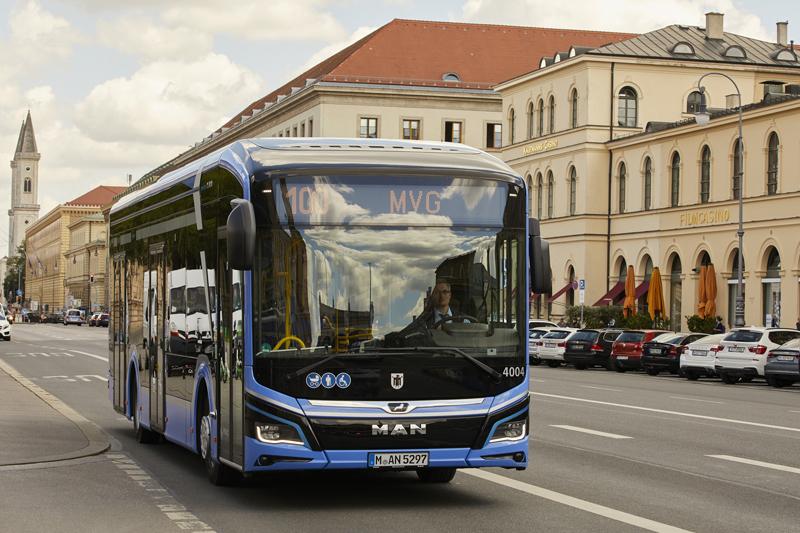 MAN: Monachium wprowadza Lion's City E do obsługi linii autobusowej, elemoto.pl