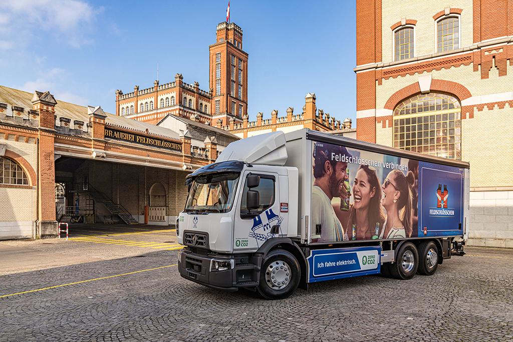 RENAULT TRUCKS: Elektryczne ciężarówki dla Grupy Carlsberg, elemoto.pl