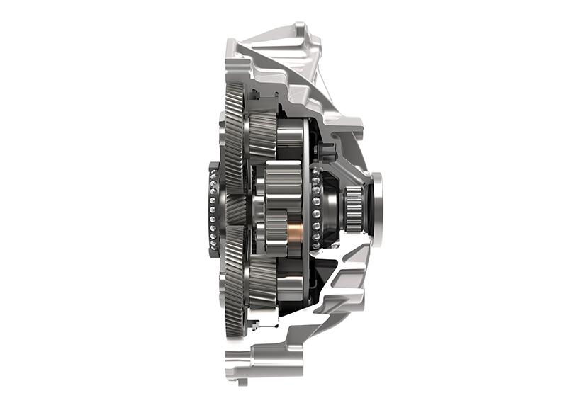 Przekładnie hybrydowe Schaeffler zapewniają moc znamionową 120 kW.