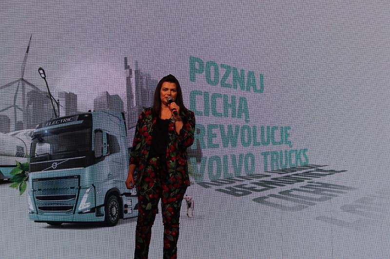 Małgorzata Kulis, dyrektor zarządzająca Volvo Trucks Polska: – Naszą Cichą Rewolucję zaczynamy od transportu dystrybucyjnego poprzez wykorzystanie modeli Volvo FL i FE Electric.
